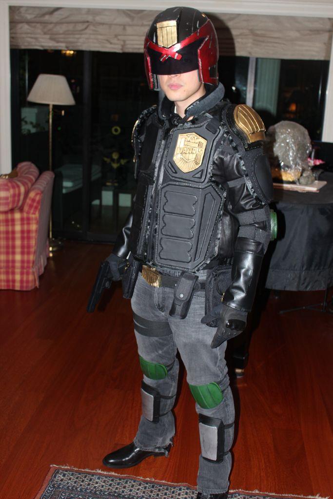 Picture of Dredd 2012 Costume Tutorial