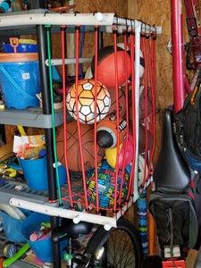 Space Saving Ball Storage