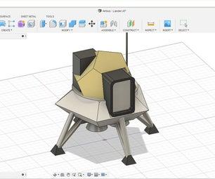 Design a Moon Lander in Fusion 360