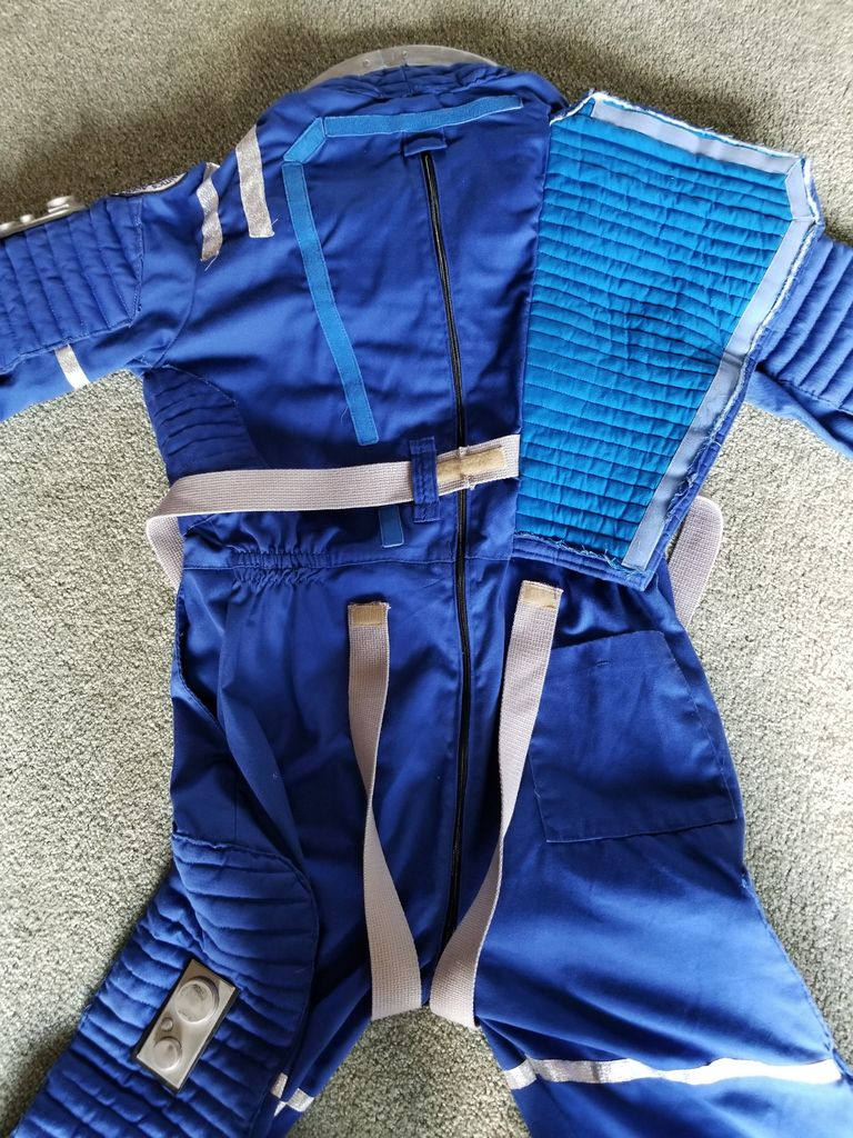Picture of Sewing Phase:  Suit & Harness