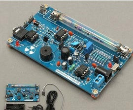Geiger Counter With Arduino Uno