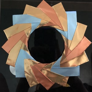 Simple and Elegant Origami Wreath