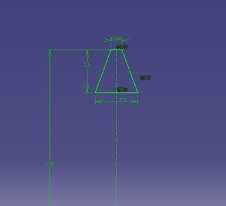 Model Gear on Pump End Cap