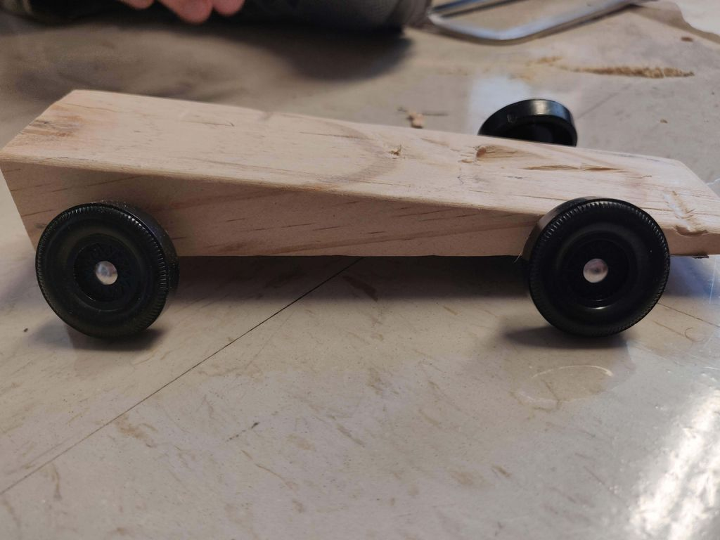 Picture of How to Make a Fast Pinewood Derby Car!