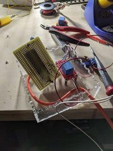 Cut and Assemble Control Box