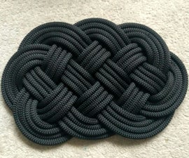 How to Make an Ocean-plait Mat