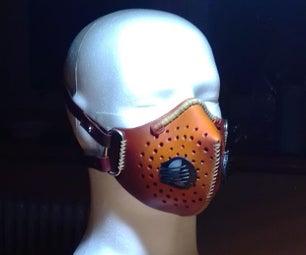 皮革面罩(带过滤器)