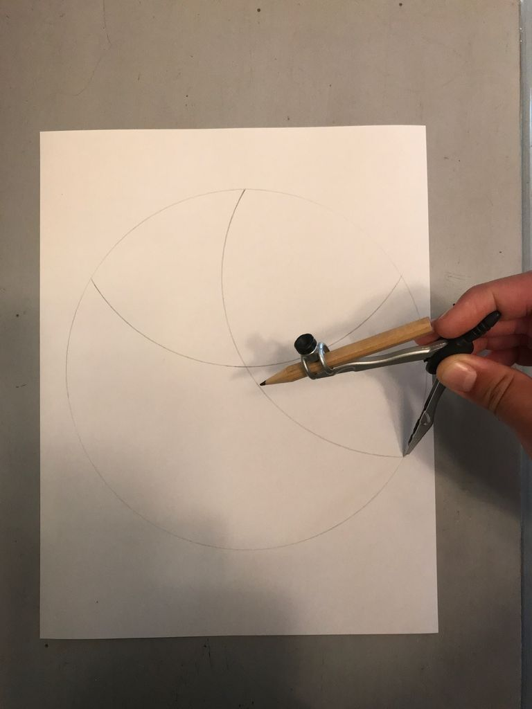 Picture of Draw the Curves to Form the Points
