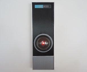 屏幕精确HAL 9000副本