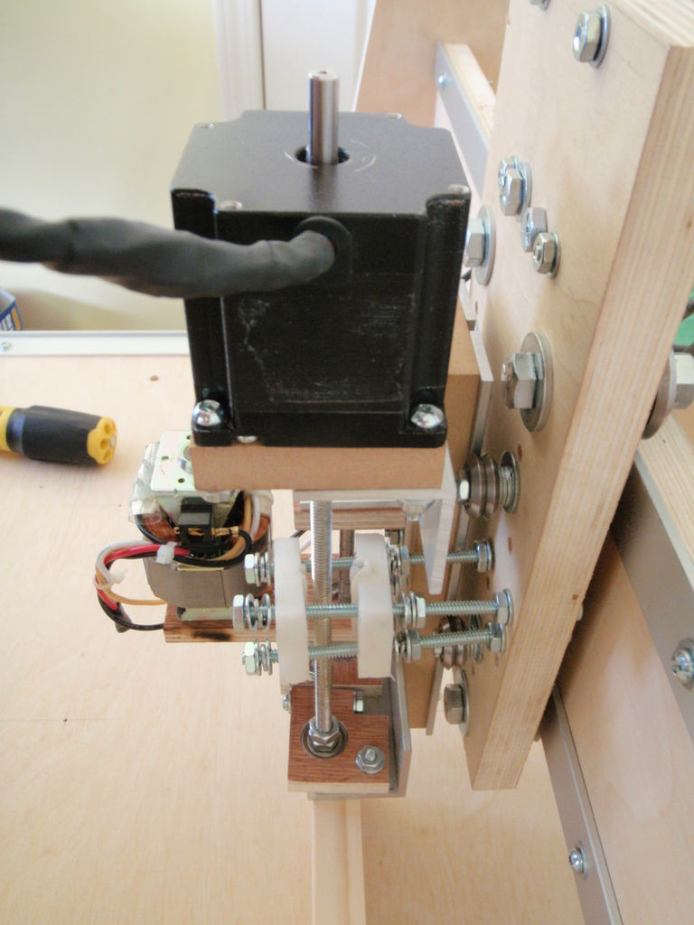 Picture of Z Axis Assembly