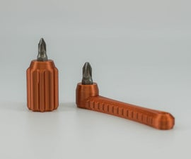 Tiny Magnetic Bit Holder / Screwdriver
