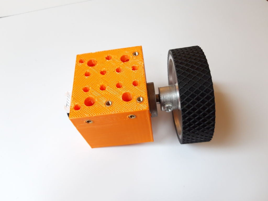 Picture of Motor Block Assembly