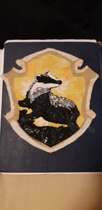 Hufflepuff Collage Patch