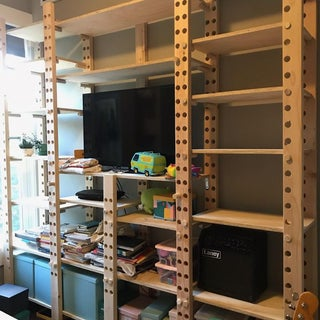 Very Adjustable Shelving
