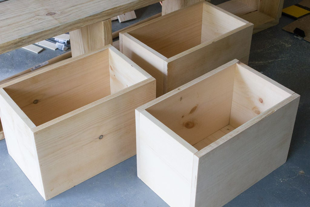 Picture of Step 3: Assemble the Storage Bins