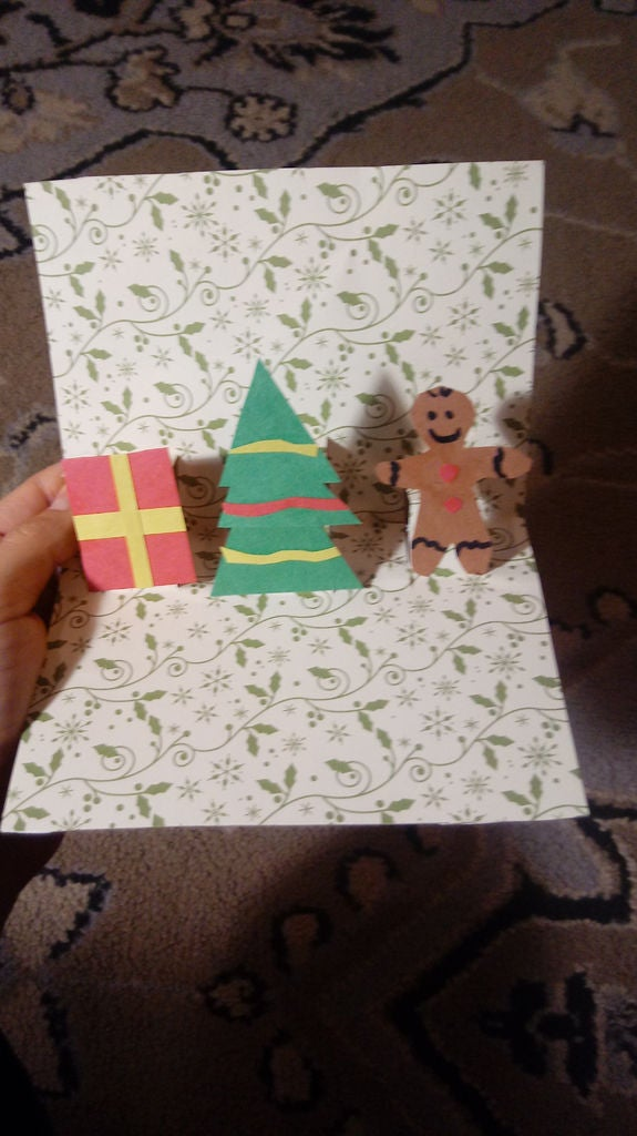 Picture of Cardboard Pop-up Card
