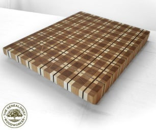 Make a Plaid Cutting Board