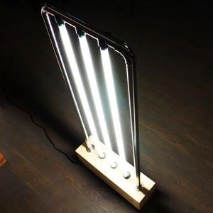 Vertical Fluorescent Lamp