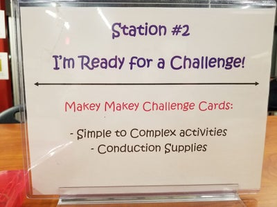 Station #2: - I'm Ready for a Challenge