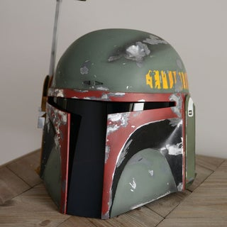 Painting a Boba Fett Helmet ( With Spray Cans )