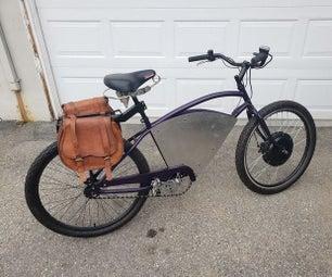 电动自行车转换 - 咖啡重型汽车