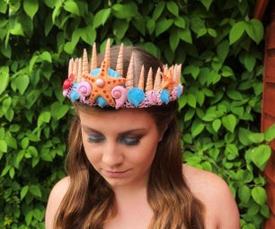 How to Sculpt a Coral Reef Mermaid Crown