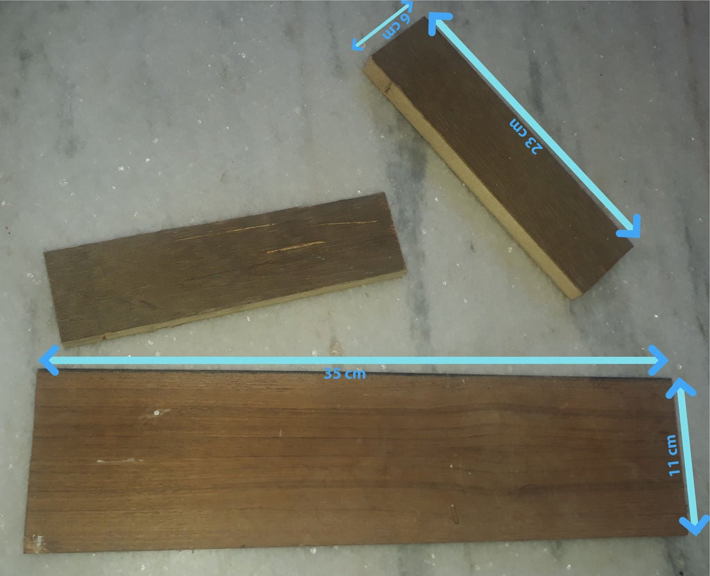 Picture of Making Wooden Stand for Our Cardboard Maze