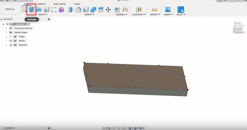 Picture of 3D Modeling in Fusion 360