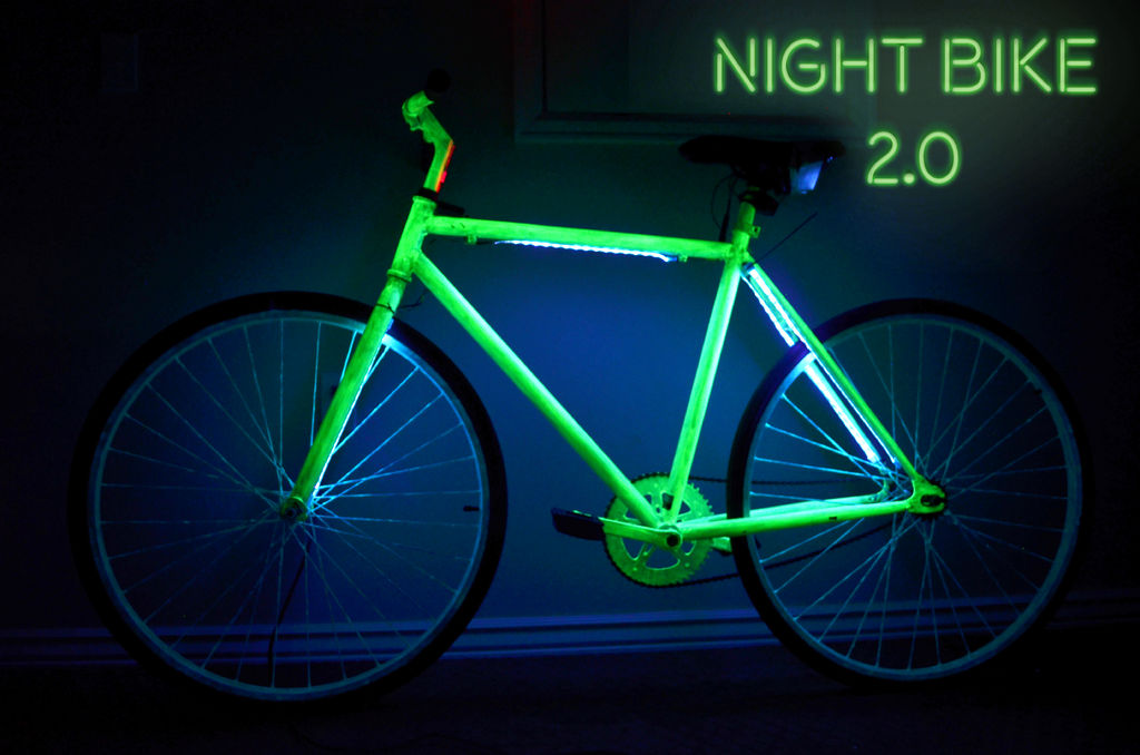 Picture of Night Bike 2.0 With LED's