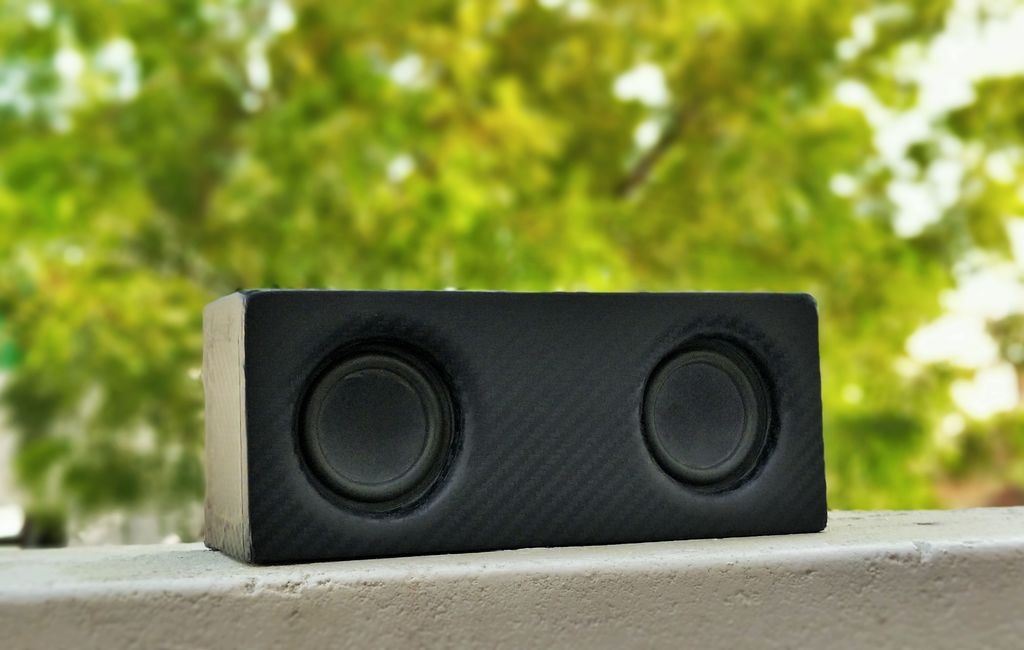 Picture of Portable Bluetooth Speaker With Built-In PowerBank