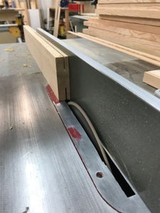 Machining the Legs