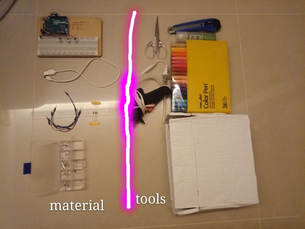 Picture of Step 1: Materials & Tools