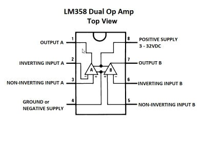 IC LM358 Comparator
