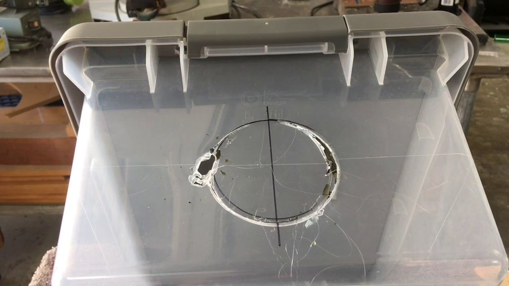 Picture of Making the Hole