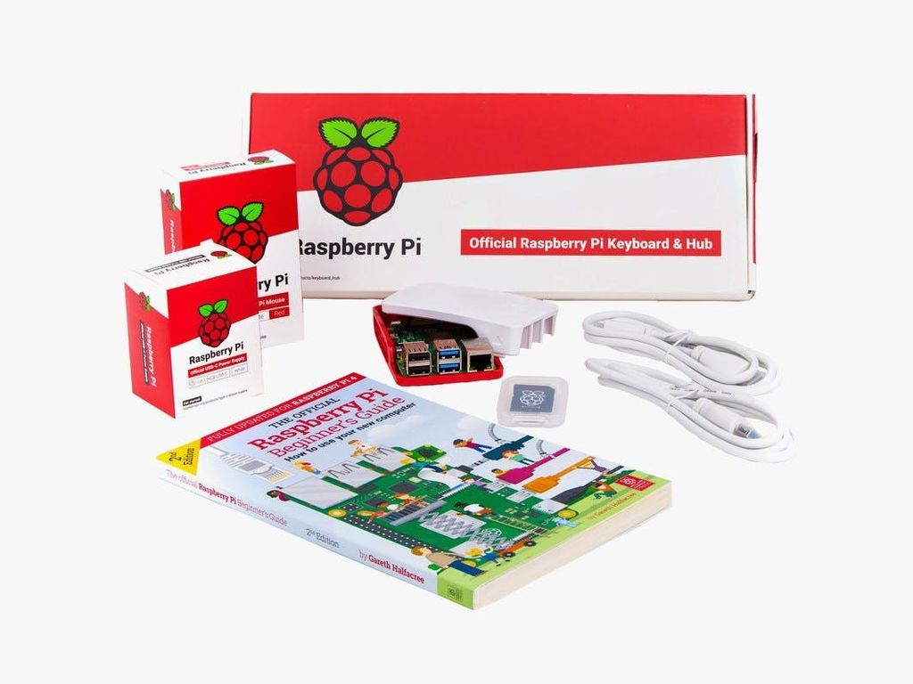 Picture of What's Inside of Raspberry Pi 4 Desktop Kit