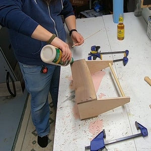 Adding Reinforcements Part 1 - Drilling and Gluing