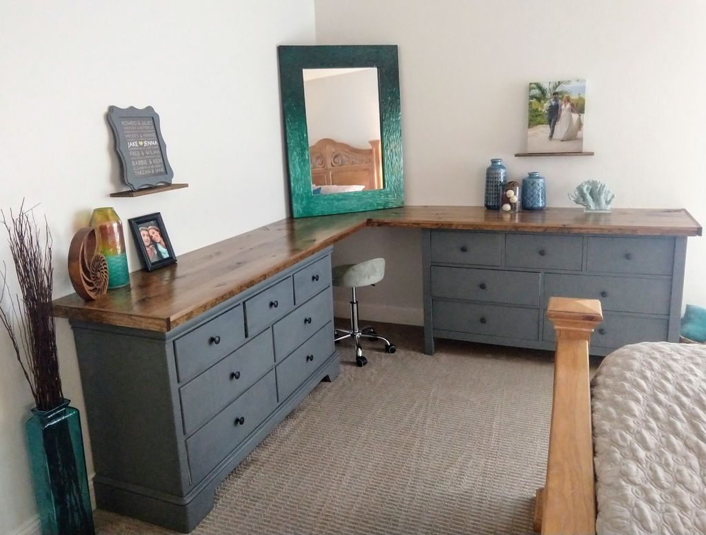 Picture of Dresser Flip to Makeup Corner Table