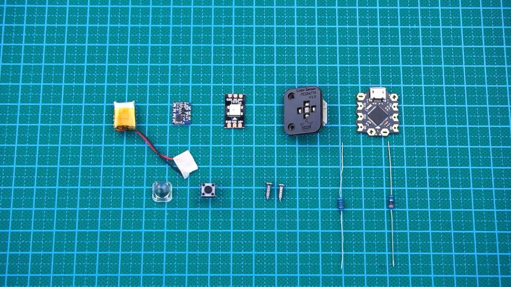 Picture of Arduino RGB Color Recognising Flashlight