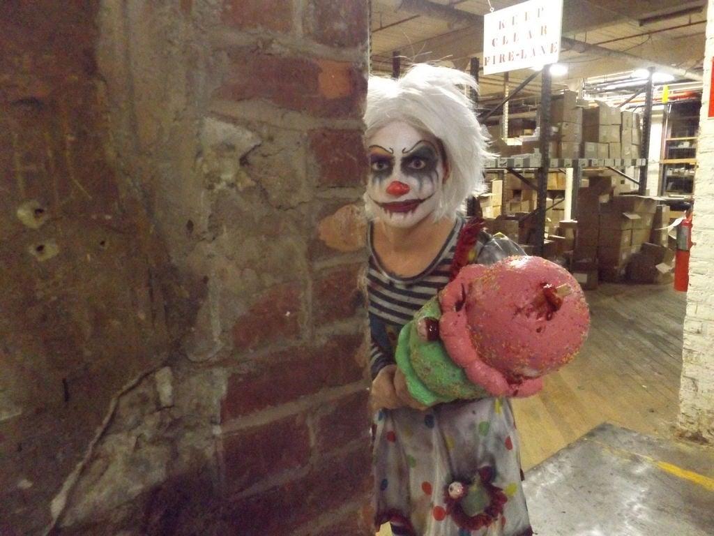 Picture of Creepy Clown- Ice Cream Gal
