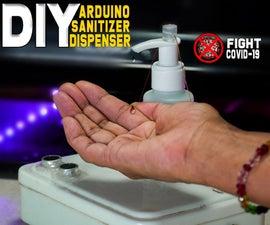 DIY Hand Sanitizer Dispenser Using Arduino