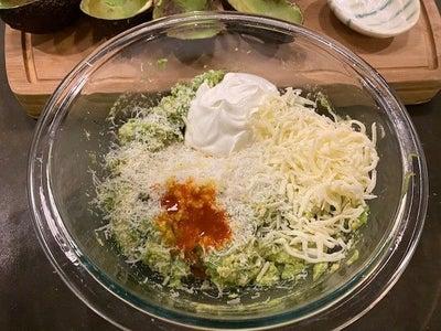 Add Sour Cream, Hot Sauce - to Your Taste and Half the Mozzarella