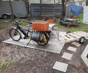 重型拖车自行车