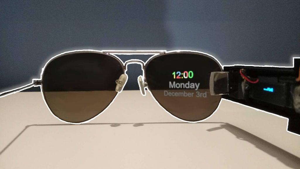 Picture of DIY Smart Glasses - Arduino/ESP