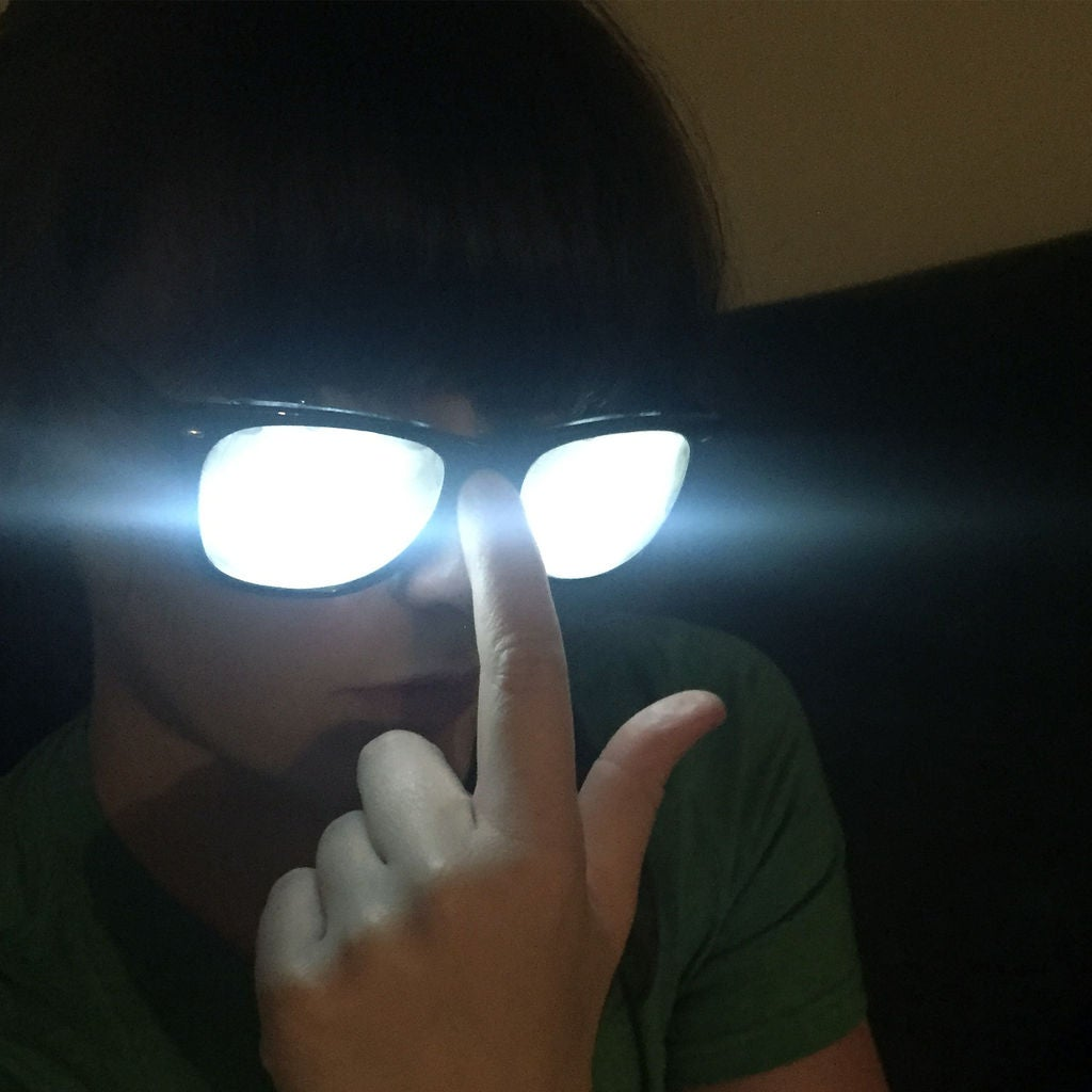 Picture of Glowing Comic/Anime Character Glasses