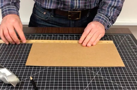 Make the Cardboard Base