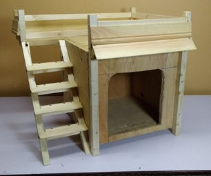 DIY Wooden Dog House