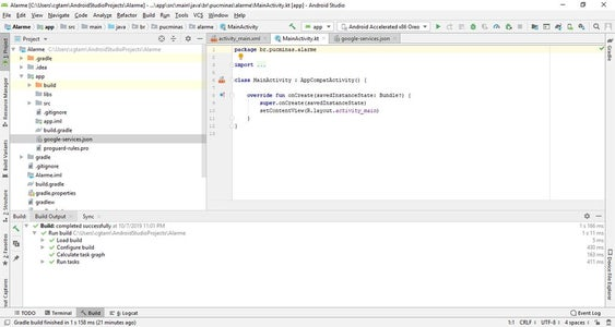 Projeto Android Passo 4 De 8: Configurando Acesso Ao Firebase - Passo 1 De 3