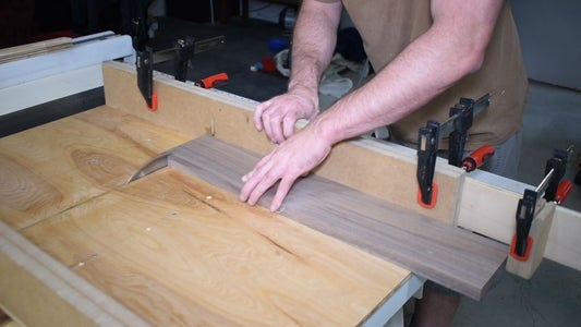 Cut Parts for the Cabinet Sides