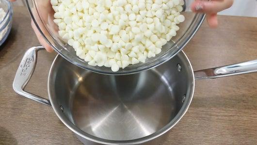 Add Ingredient to Sauce Pan