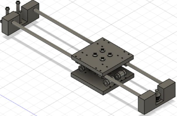 Picture of Y-axis Motion Mechanism